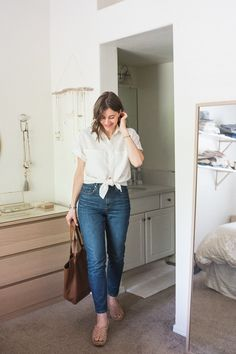 Easy classic-retro outfit for spring.