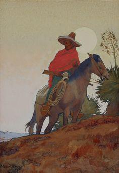 Dixon (1875-1946), Maynard - Maynard Dixon (1875-1946) - The Insurrecto