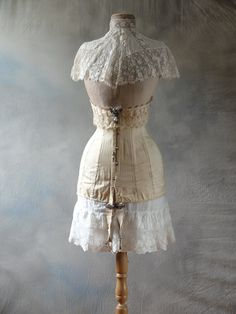 90baf513e1 For Sale - Wasp waist mannequin with edwardian corset