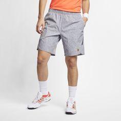 1cd3cb4f05654 NikeCourt Flex Ace Men s Printed Tennis Shorts Size XL (Cool Grey)