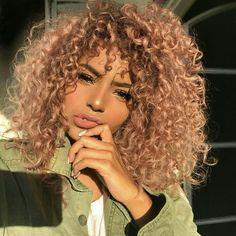 Marvelous Nice Ombre Tight Curly Hair Thegoodhairsite Thegoodhair Com Short Hairstyles Gunalazisus
