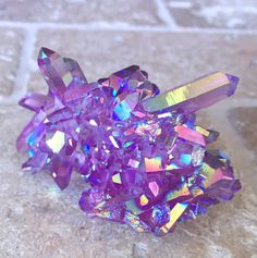 Image result for kawaii pink purple Aurora crystal