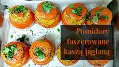 Pomidory nadziewane kasza jaglana