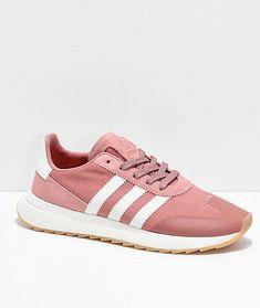493605cdb84d28 adidas Flashback Raw Pink & White Shoes #fashion #clothing #shoes  #accessories