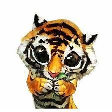 Resultado de imagen para imagenes de tigres kawaii