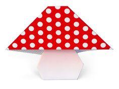 Champignon en origami