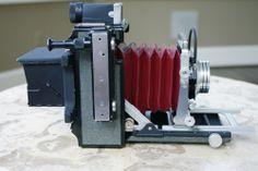 "Gorgeous.  Graflex ""Baby"" Century 6x9 cm Press Camera with lens, Linhof Technika"