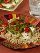 Recipe - Trout with Skillet-Roasted Peppers