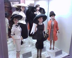 Audrey Hepburn Barbie Collection aka I might actually be willing to kill for this.