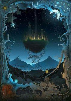 Creative Digital Illustrations by Remy Hoff - Cruzine Fantasy World, Fantasy Art, Children's Book Illustration, Book Illustrations, Box Art, Paper Art, Fairy Tales, Concept Art, Images