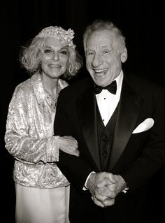 Anne Bancroft Mel Brooks- Brooks-they were the cutest couple.