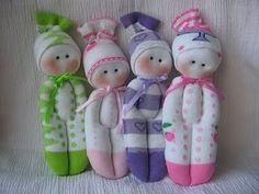 Adorable sock doll tutorial