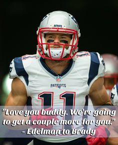 JE11 to TB12 after Week1 Win! #NEvsAZ #3MoreWeeks #ClassAct