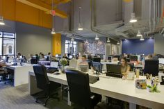 Businesses are finding that well-designed workplaces boost employee productivity. The modern workplace is . Workout Stations, Hiring Process, Business Centre, Coworking Space, Working Area, How To Run Longer, Workplace, Office Spaces