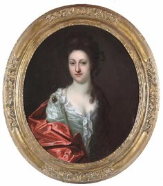 Circle of Godfrey Kneller Antique 1700 s Old Master Oil Portrait Painting Lady Oil Portrait, Old Master, Woman Painting, Lady, Mona Lisa, Antiques, Artwork, Antiquities, Antique