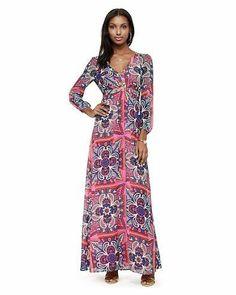 Aztec Floral Dress