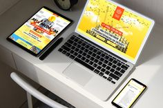Уникальный дизайн. Landing Page SK.MSK под ключ  Работа в интернете: sk.msk.ru