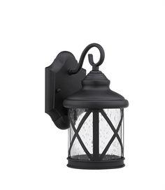 "CHLOE Lighting CH25041BK11-OD1 Outdoor Sconce ""MILANIA ADORA"" Black Outdoor Wall Lights, Outdoor Barn Lighting, Outdoor Light Fixtures, Outdoor Wall Lantern, Porch Lighting, Outdoor Wall Sconce, Exterior Lighting, Wall Sconce Lighting, Outdoor Walls"