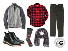 5 Days, 5 Ways: Rugged and Refined in a Buffalo Plaid | Monday