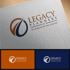 Legacy Planners fl - Who has the best creative spirit? Insurance- focusing on final expense policies (senior clients), Disability Income and Term Insurance (younger to midd. Branding Logo Design, Logo Design Trends, Custom Logo Design, Logo Design Inspiration, Logo Design Contest, Design Logos, Logo Restaurant, Monogram Logo, Design 3d