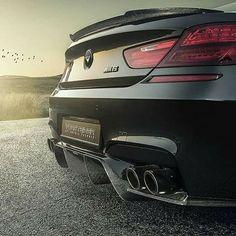 BMW F13 M6 black Vorsteiner