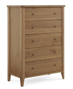 Martha Stewart Collection Brookline 5-Drawer Chest, Created for Macy's | macys.com