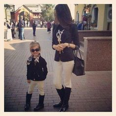 Outfit mom &daughter