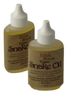 Use our Vegan Snake Oil to shave with. Help keep razor burn away.