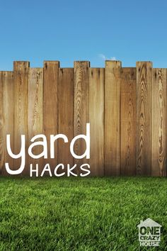 11 Lazy Yard Hacks & Tips - One Crazy House