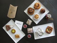 My pastry spread from Killed by Dessert #bakesale at SF Cooking School for @No Kid Hungry - Share Our Strength