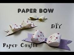 Making a Paper Bow - DIY Crafts - Handmade Tutorials - Giulia's Art