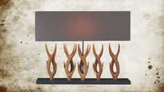 This lamp is truly unique, shaped as antlers and it give the warm and cozy feeling of a fire. Hunting Lodge Decor, Scandinavian Design, Scandinavian Interiors, Interior Decorating, Interior Design, Ceiling Lamp, Antlers, Warm And Cozy, Modern Decor