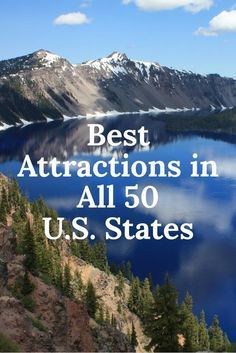 The U.S. is brimming with awe-inspiring national parks, engrossing museums and historic sites, and thrilling amusement parks ideal for a family getaway or even a solo road trip. From a vintage motorsport museum to a sky-high observatory to the world's largest carousel, these are the top attractions in each of our great 50 states.