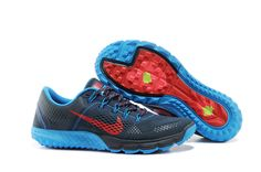 newest f59a1 20fee Mens Nike Zoom Terra Kiger Armory Navy Challenge Red Blue Heather Atomic  Red Running Shoes