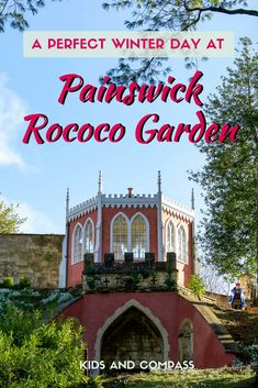 Visit Painswick Rococo Garden in the Cotswolds, UK, to discover intricate rococo architecture. It's beautiful at any time of the year but January and February are perfect for the amazing snowdrop display. Painswick | Painswick Rococo Garden | Cotswolds | family days out UK | family days out UK places to visit | snowdrops | #familytravel #cotswolds