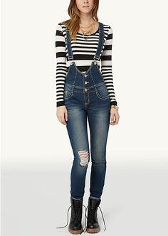 Front Button Skinny Overalls | Skinny | rue21 lovvvve