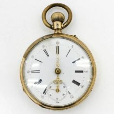 14KG Pocket Watch Pendant Watch, Pocket Watch Antique, China Porcelain, Clocks, Watches, Antiques, Accessories, Jewelry, Schmuck