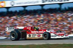 Alex Dias Ribeiro (March-Ford 761B)  Grand Prix d'Allemagne - Hockenheim 1977