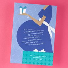 welcome baby shower invite
