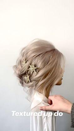 Hair Up Styles, Long Hair Wedding Styles, Elegant Wedding Hair, Wedding Hair And Makeup, Bridal Hair, Braids For Wedding Hair, Prom Hair Up, Wedding Party Hair, Hair Makeup