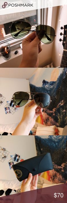 65f2cb9869 Ray Ban Aviator Sunglasses size  large frame  copper lens  black RB 3026  AVIATOR