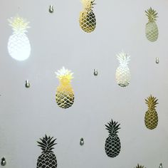 Pinneapple wall deca
