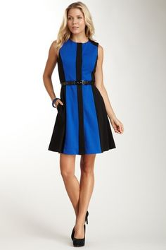 Paneled Shift Dress by Vince Camuto on @HauteLook