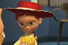 """Looking more closely at Andy's hat will provide an answer, since it's nearly identical to Jessie's. 