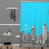 Grant Shower curtain Found it at Wayfair - Bird Ave Woven Polyester San Diego Shower Curtain