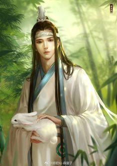 Grandmaster of Demonic Cultivation/Mo Dao Zu Shi ('. I Love Anime, Anime Guys, Manga Anime, Fantasy Art Men, Fantasy Books, Ancient Beauty, Great Love Stories, Bishounen, The Grandmaster