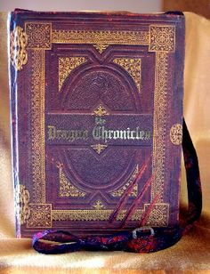 The Dragon Chronicles Book Bag #HAFshop #HAFteam #handmade #artist $50.00