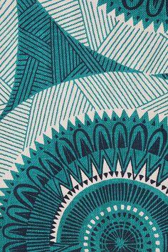Medallion rug #pattern