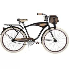 """26"""" Huffy Panama Jack Men's Cruiser Bike, Gloss Black"""