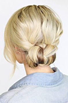 Summer Bun Hair Idea